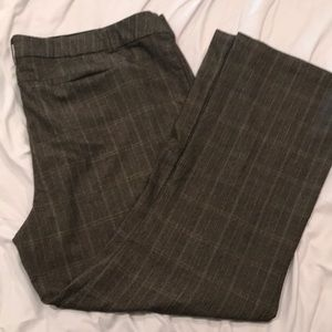 Maurice's dress slacks grey tweed pattern